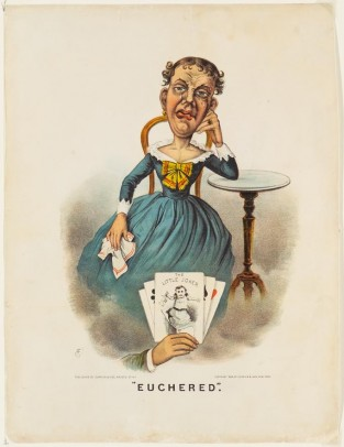 Euchered, Currier & Ives