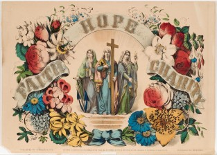 Faith Hope Charity, Currier & Ives