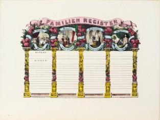 Familien Register, Currier & Ives