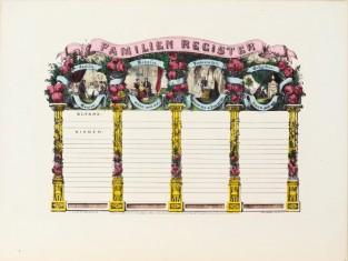 Familien Register, Currier & Ives