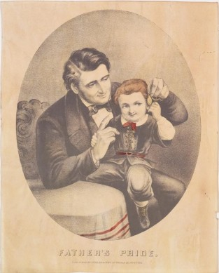 Father's Pride, Currier & Ives