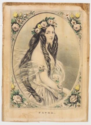 Flora, Nathaniel Currier