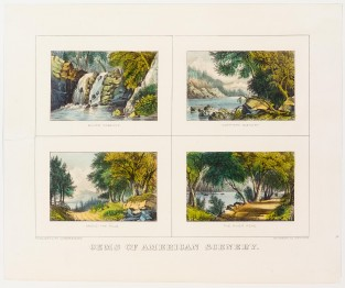 Gems Of American Scenery, Currier & Ives