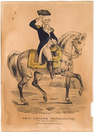 Gen. George Washington/The Father Of His Country, Nathaniel Currier
