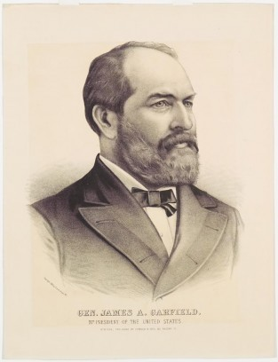 Gen. James A. Garfield. 20th President Of The United States, Currier & Ives