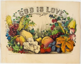 God Is Love, Currier & Ives