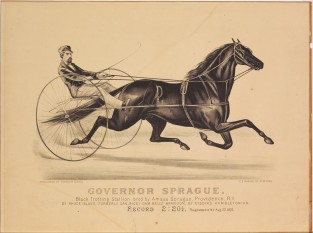 Governor Sprague, Currier & Ives