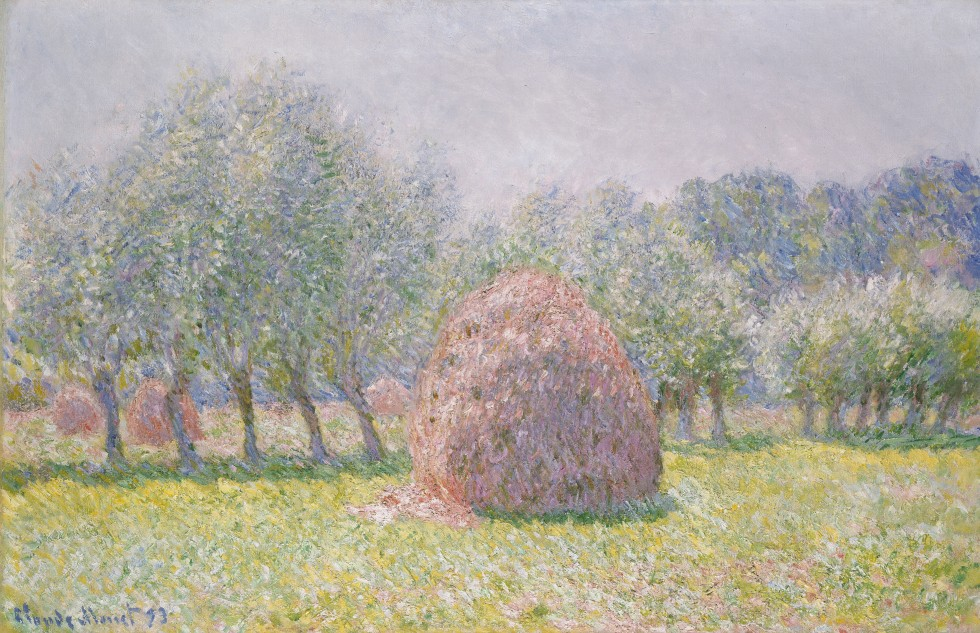 Grainstack, by Claude Jean Monet