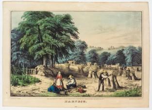 Harvest, Nathaniel Currier