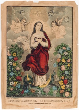 Immaculee Conception, Currier & Ives