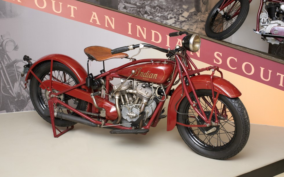 Indian Scout 101, 1929, Indian Motocycle Co.