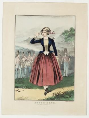 Jenny Lind. Als Tochter Des Regiments., Nathaniel Currier