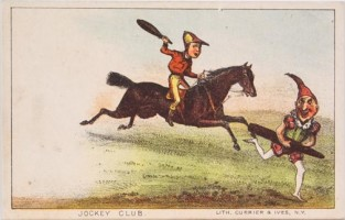 Jockey Club, Currier & Ives