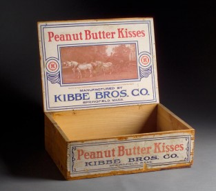 Kibbe Bros. Co. Peanut Butter Kisses Packing Box, Unknown