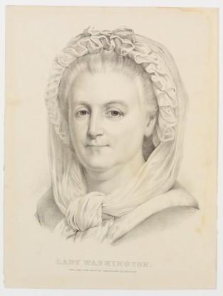 Lady Washington, Currier & Ives