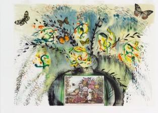 Landscape, Fruit And Flowers, Salvador Dalí