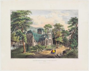 Lanercost Priory. England, Currier & Ives