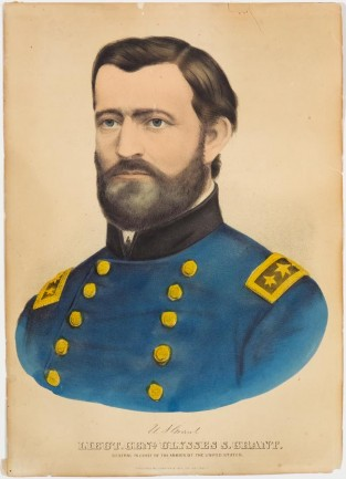 Lieut. Genl. Ulysses S. Grant. General In Chief Of The Armies Of The United States, Currier & Ives