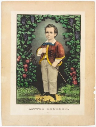 Little Brother, Currier & Ives