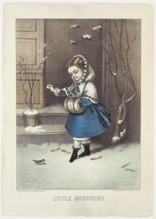 Little Snowbird, Currier & Ives