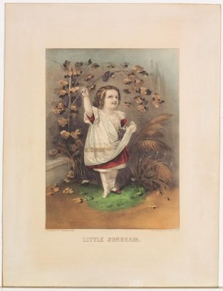 Little Sunbeam, Currier & Ives