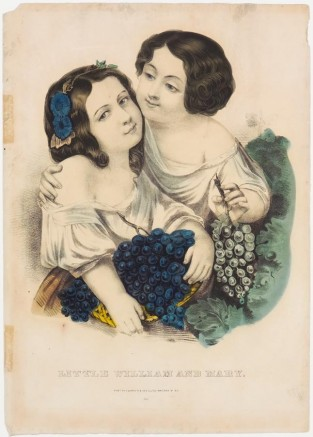 Little William And Mary, Currier & Ives
