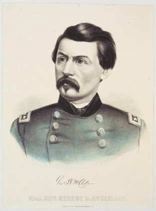 Maj. Genl George B. McClellan, Currier & Ives