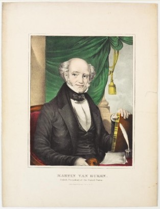 Martin Van Buren. Eighth President Of The United States, Nathaniel Currier