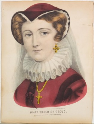 Mary Queen Of Scots, Currier & Ives