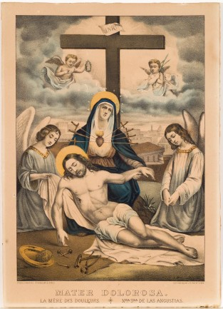 Mater Dolorosa, Currier & Ives