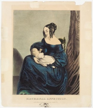 Maternal Affection, Currier & Ives