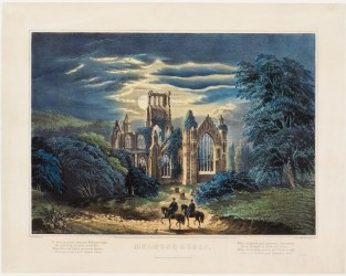 Melrose Abbey, Currier & Ives