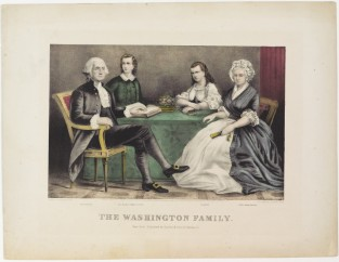 The Washington Family, Currier & Ives