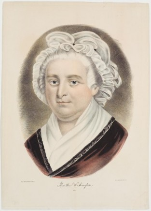 Martha Washington, Currier & Ives