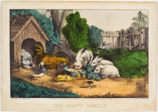 The Happy Family, Currier & Ives
