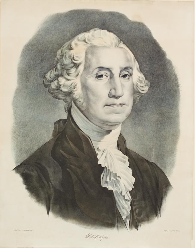 George Washington shoulder portrait