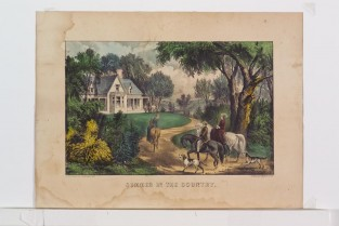 Summer In The Country, Currier & Ives