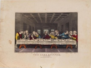 The Last Supper, Currier & Ives