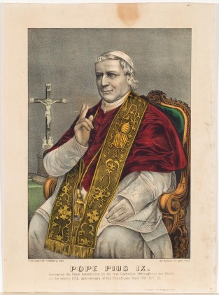 POPE PIUS IX., Currier & Ives
