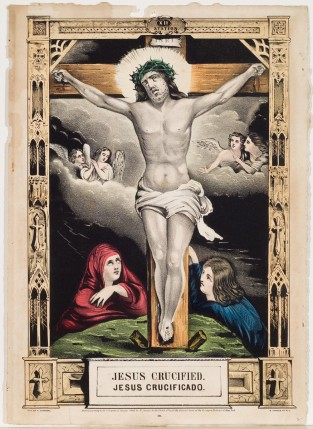 Jesus Crucified, Nathaniel Currier