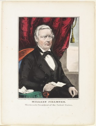 Millard Fillmore, Thirteenth President Of The United States, Nathaniel Currier