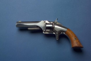 Smith & Wesson .22 Caliber Model 1 First Issue Revolver, Ca. 1857 – 1860, Smith & Wesson Co., Springfield, MA