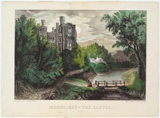 Moonlight – The Castle, Currier & Ives