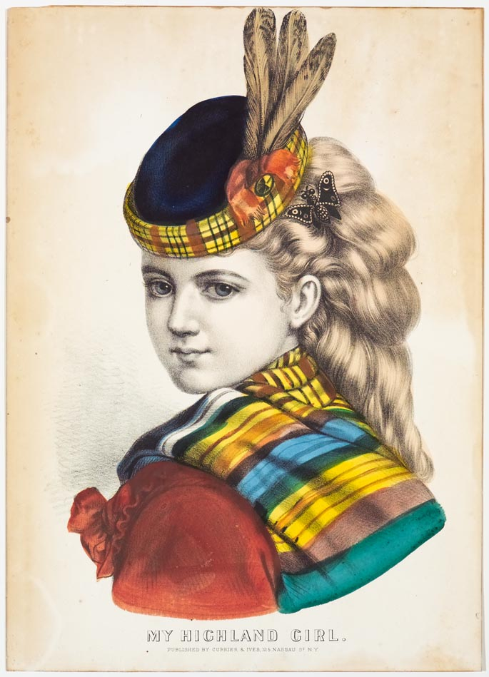 Young girl facing viewer