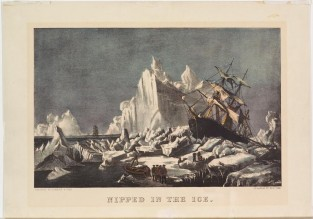 Nipped In The Ice, Currier & Ives