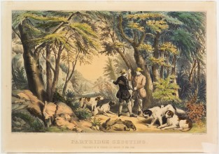 Partridge Shooting, Nathaniel Currier