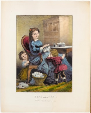 Peek – A – Boo!, Currier & Ives