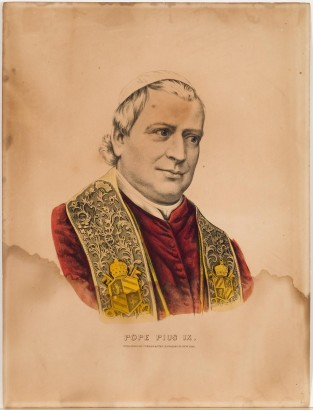 Pope Pius IX, Currier & Ives