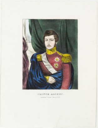 Prince Albert, Nathaniel Currier