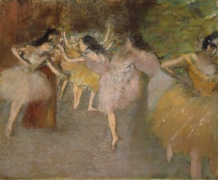 Rehearsal Before The Ballet, Edgar Degas
